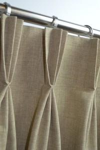 Triple Pinch Pleat Curtains MAde To Measure