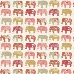 Elephants Spice Roller Blind