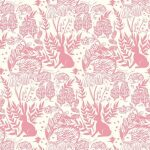 Hedgerow Pink Roller Blind