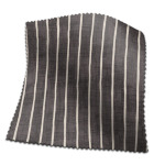 Made To Measure Curtains Pencil Stripe Ebony