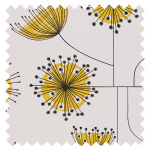 Made To Measure Roman Blind Dandelion Mobile Sunflower Yellow