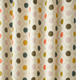 Orla Kiely Spot Flower Ready Made Curtains