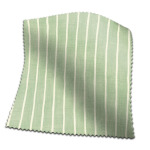Roman Blind Pencil Stripe Lemongrass