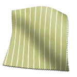 Roman Blind Pencil Stripe Pistachio
