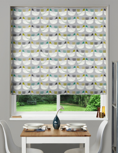 Made To Measure Roman Blind Cluck Cluck Kiwi