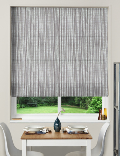 Made To Measure Roman Blind Pisa Heather