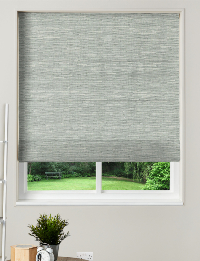 Made To Measure Roman Blind Derwent Silver