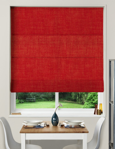 Made To Measure Roman Blind Linoso Flame