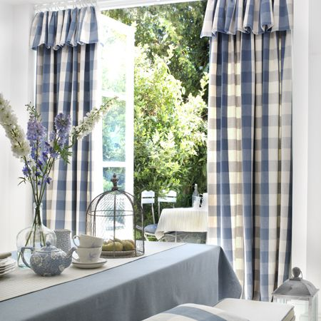 Clarke And Clarke Made To Measure Linen Curtains