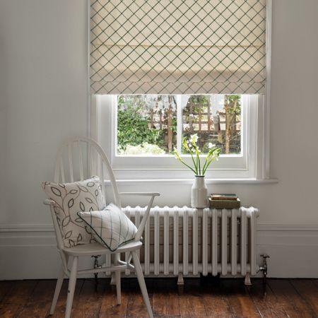 Atmosphere Vibe Embroidered Roman Blinds