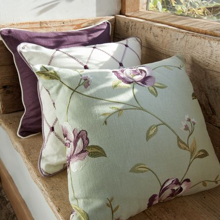 Tatton Linen Embroidered Fabrics
