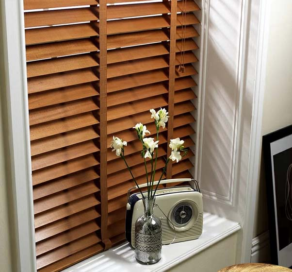 Made To Measure Wood Blinds Thumbnail